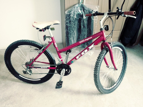 hermosa bicicleta marca fox