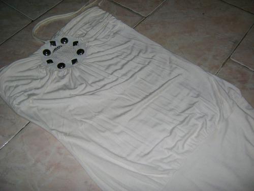 hermosa blusa blanca.