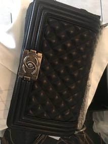 3262ae2d6 Bolsa Chanel Boy 100 Original - Bolsas Chanel en Mercado Libre México