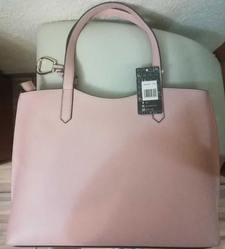 440013ee4 hermosa bolsa h&co color palo de rosa amplia envio gratis. Cargando zoom.
