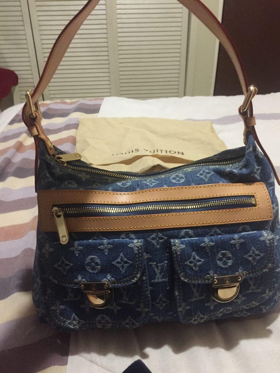 06d4a6d51 Hermosa Bolsa Louis Vuitton Denim Baggy Pm Lv - $ 9,499.00 en ...
