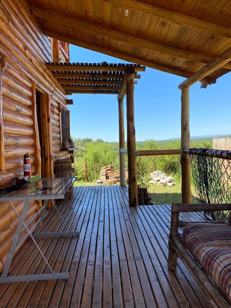hermosa cabaña equipada a estrenar villa yacoana córdoba