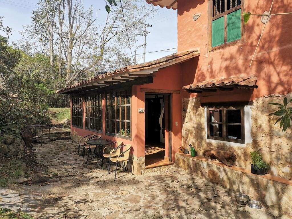 hermosa cabaña familiar en villa de leyva