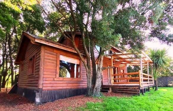 hermosa cabaña en un entorno de ensueño