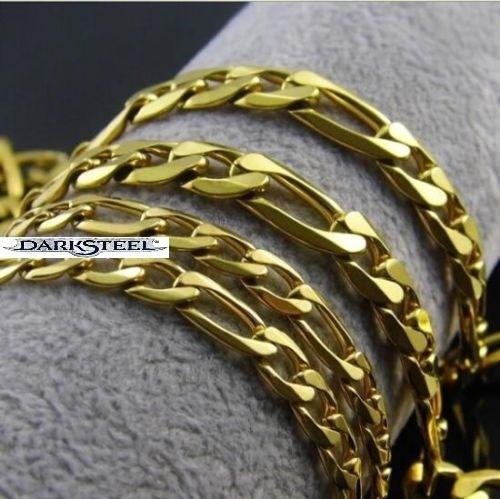 hermosa cadena gargantilla en color dorado 60 cm