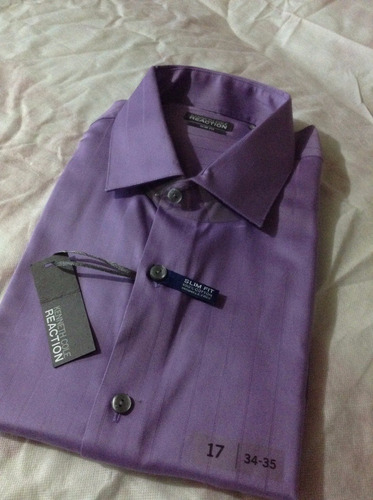 hermosa camisa kenneth cole no lacoste ralph
