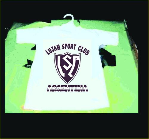 hermosa camiseta de bebe de lujan sport club