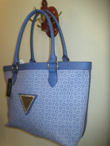 hermosa cartera para dama marca guess original de usa