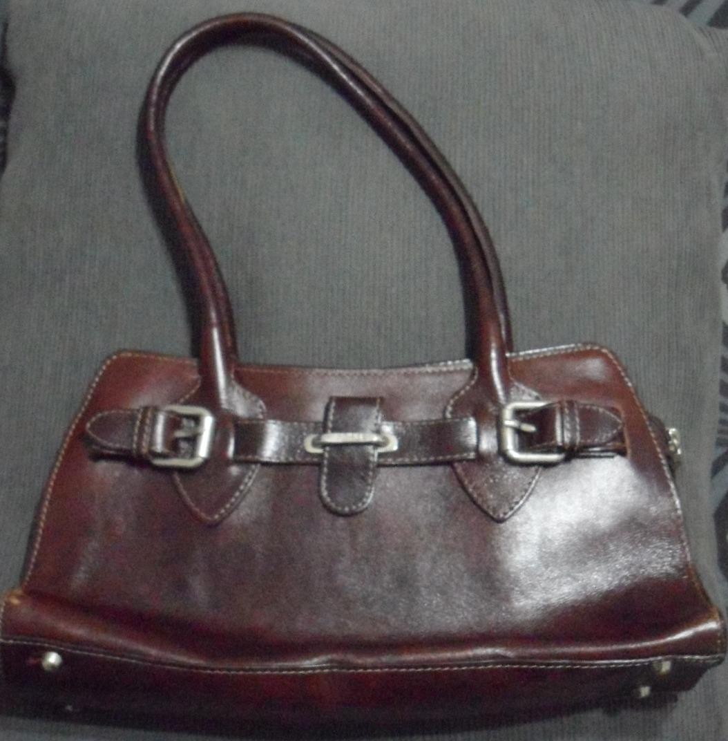 eec834def Hermosa Cartera Prune De Cuero Marrón - $ 750,00 en Mercado Libre