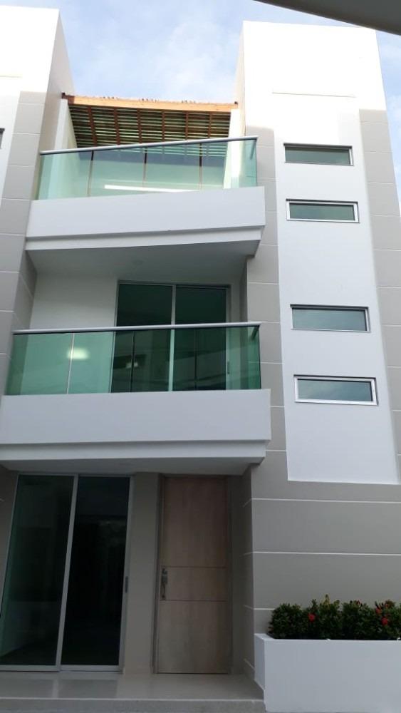 hermosa casa 3 habitaciones 3 baños moderna cerca al mar
