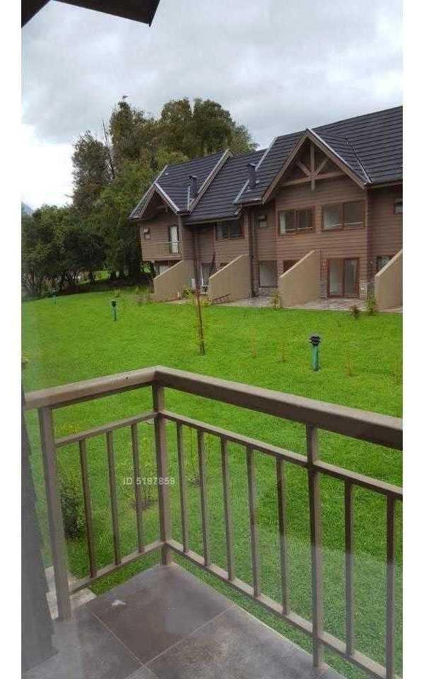 hermosa casa amoblada condominio los alerces de alicura a 3 min de pucon