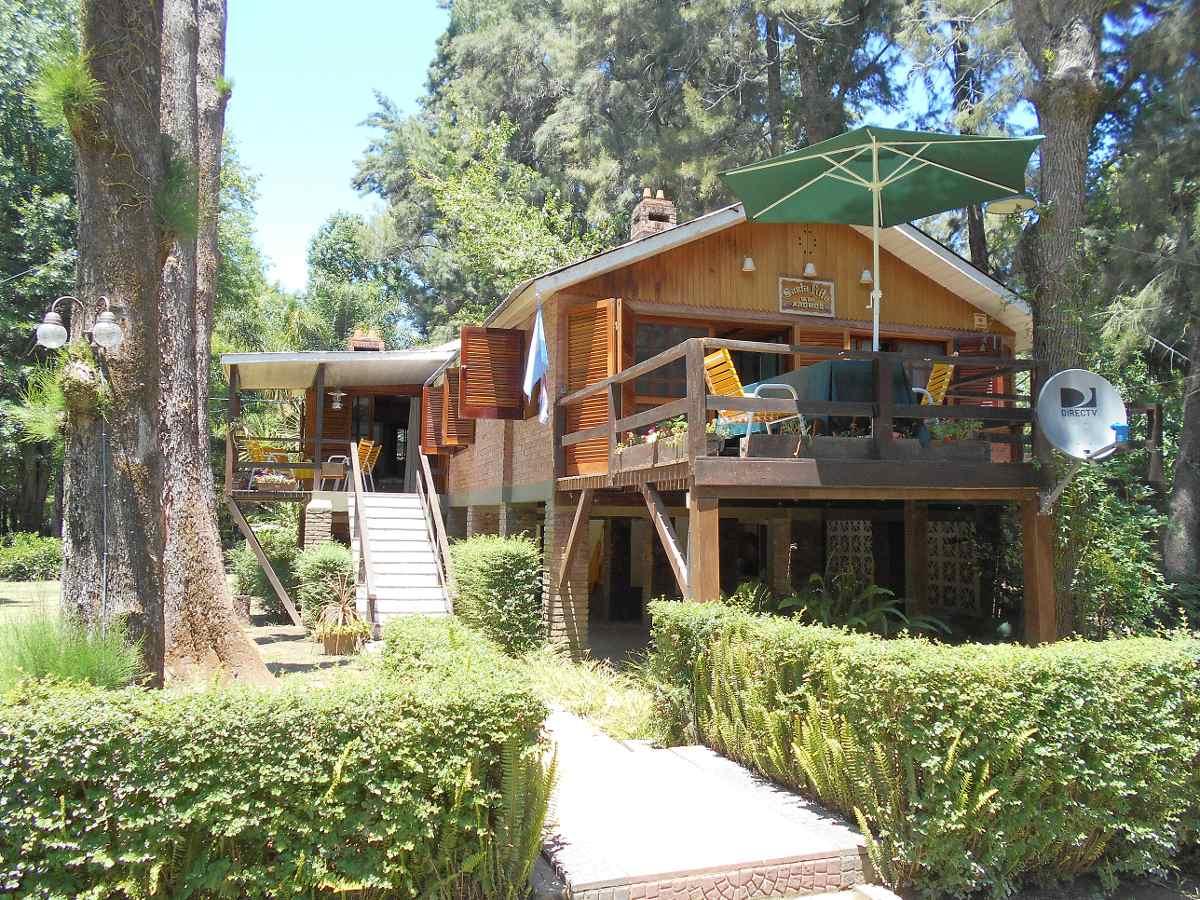 hermosa casa con pileta en el delta en alquiler