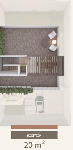 hermosa casa con roof top en venta ubicada en punta esmeralda !!