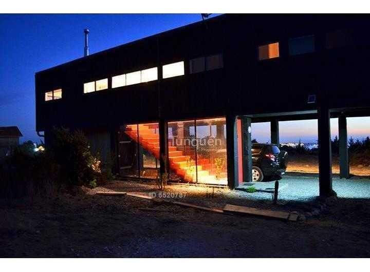 hermosa casa con vista al mar camino a tunquén
