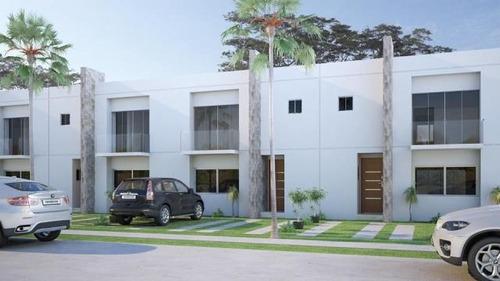 hermosa casa de 2 plantas en venta.semi-amoblada