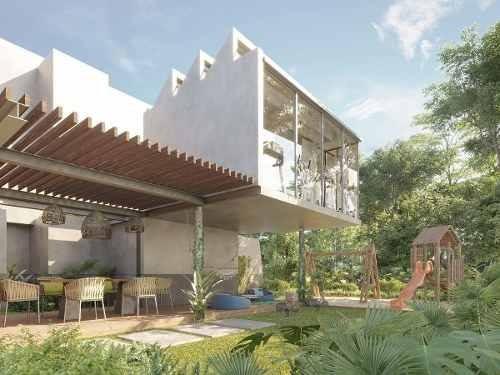 hermosa casa de 4 recamaras en aldea zamá, tulum