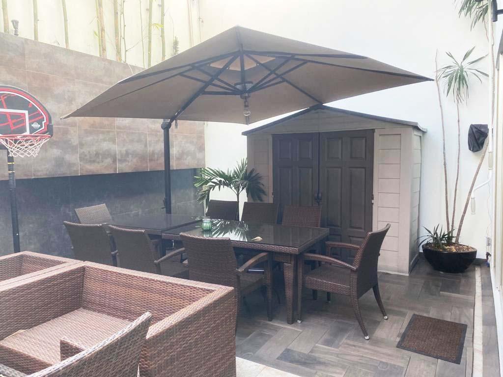 hermosa casa de cuatro niveles en coyoacán. (475)
