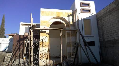 hermosa casa doble altura con boveda catalana
