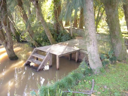 hermosa casa en el delta del tigre en alquiler temporario