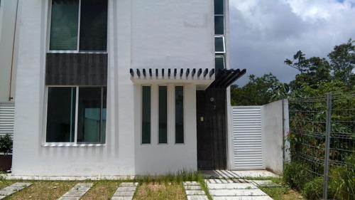 hermosa casa en el sur villa maya, alberca
