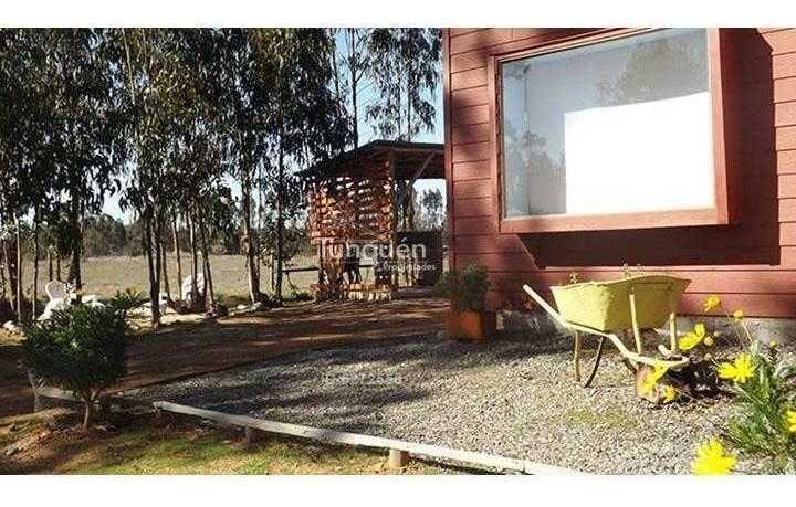 hermosa casa en parcela a 7km de algarrobo