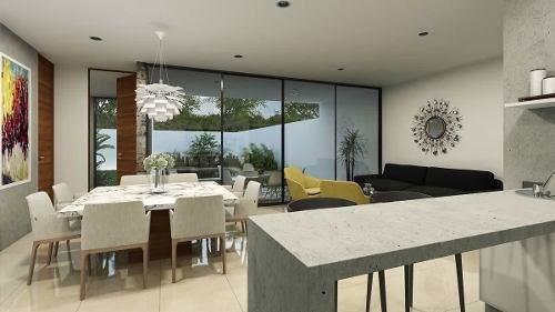 hermosa casa en privada con acabados de lujo modelo f
