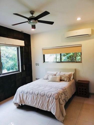 hermosa casa en renta amueblada en dzitya con alberca