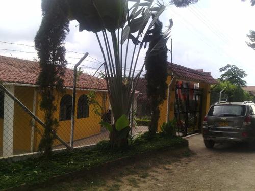 hermosa casa en zona residencial campestre
