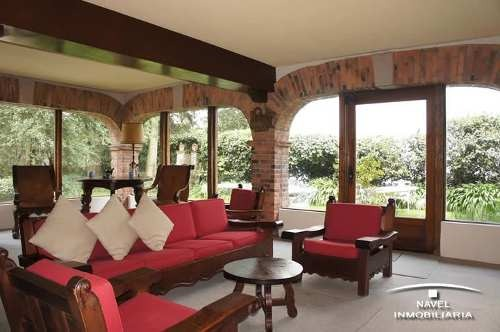 hermosa casa estilo mexicano con jardín, cav-3942