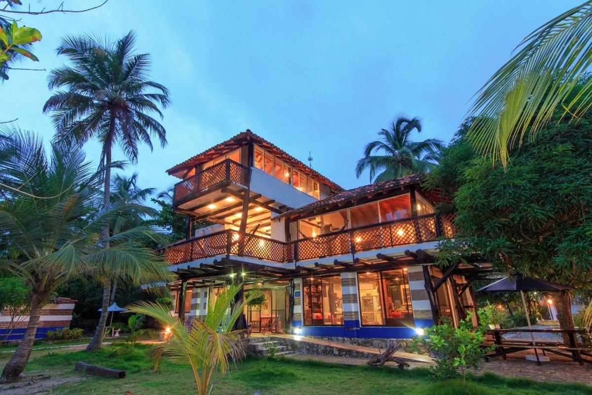 hermosa casa junto al mar