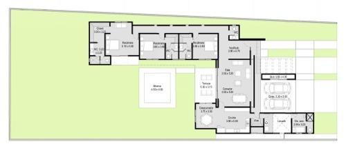 hermosa casa nueva de 1 piso en privada residencial a 15 mins de la ciudad y a 15 del mar!