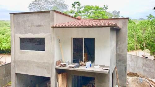 hermosa casa nueva en venta en huatulco