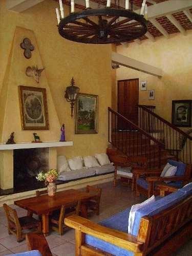 hermosa casa rústica ideal para vacacionar