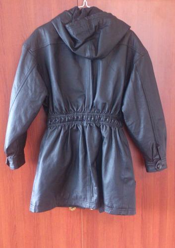 hermosa casaca americana cuero 100% s mujer envio gratisss