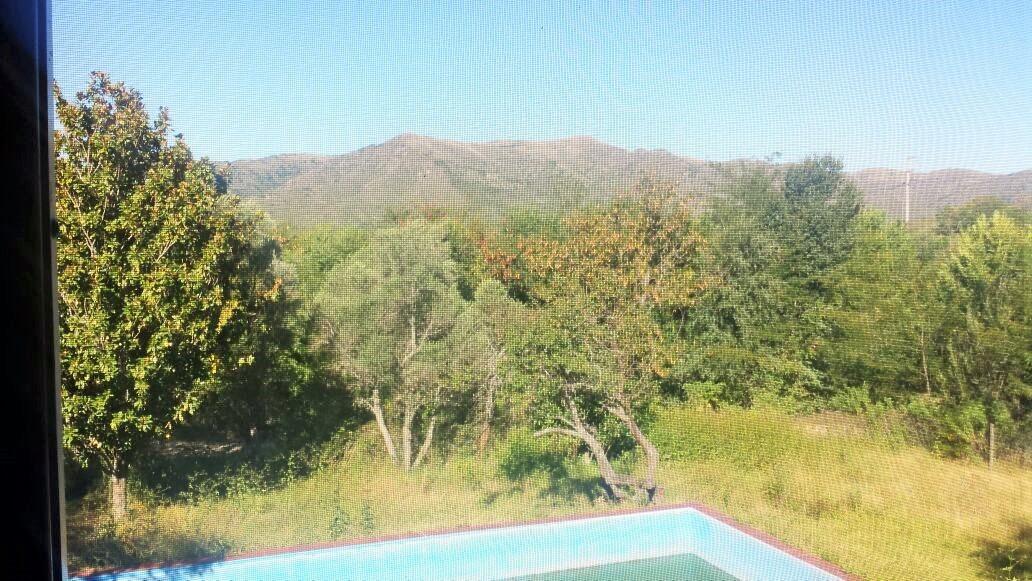 hermosa casona 6 dorm + casita , valle hermoso , córdoba