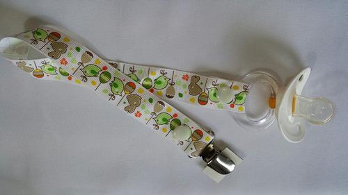 hermosa cinta portachupetes intercambiable!! súper precio!