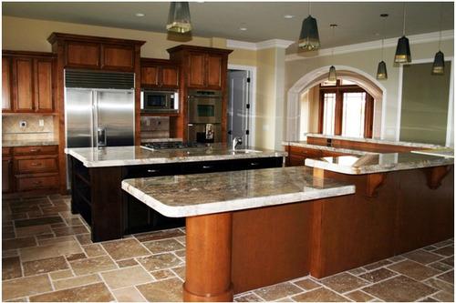 hermosa cocina fabricada y diseñada en modulos