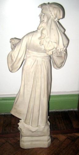 hermosa escultura marmol reconstituido