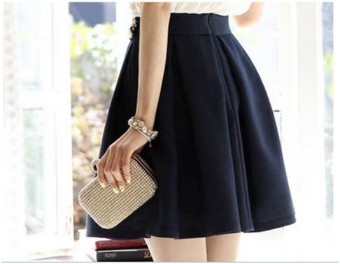 c82d741dee6 Hermosa Falda Corta!!! Moda Asiática