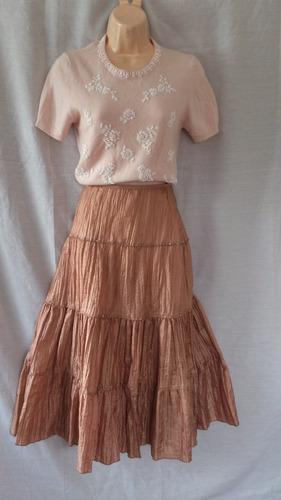 hermosa falda indu de remate talla m/l de remateeee....