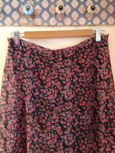 hermosa falda larga about nueva