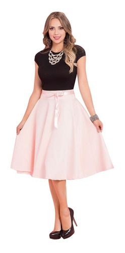 hermosa falda para mujer mtk