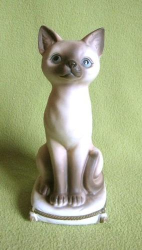 hermosa figura de gato musical 100% operativo