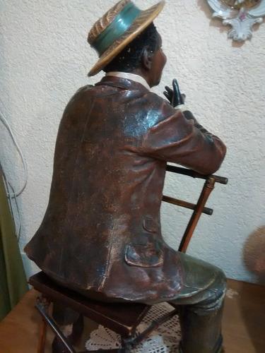 hermosa figura de un negrito una verdadera antigüedad