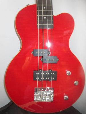 hermosa guitarra de bajo marca canvas importado de usa