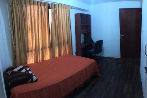 hermosa habitación amoblada frente a upc san isidro