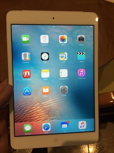 hermosa ipad mini modelo a1432 color blanca!!!!