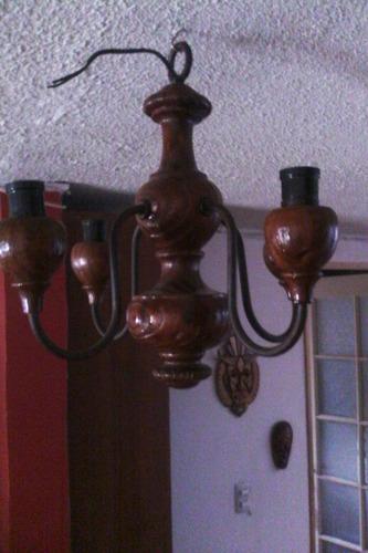 hermosa lampara antigua