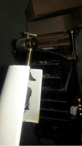 hermosa lampara de pie bronce