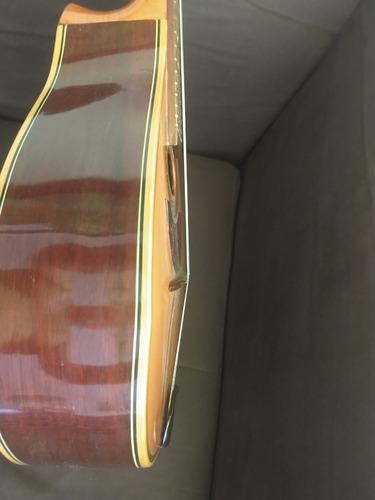 hermosa mandolina tapa sólida archtop